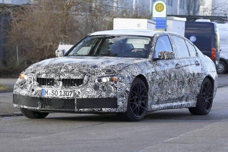 2020 BMW M3 test mule