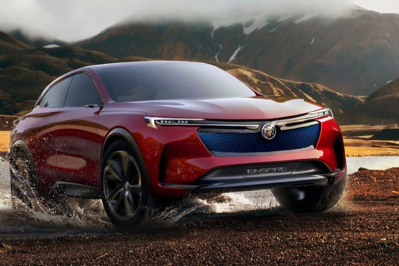 2020 Buick Enspire concept front 3/4 view