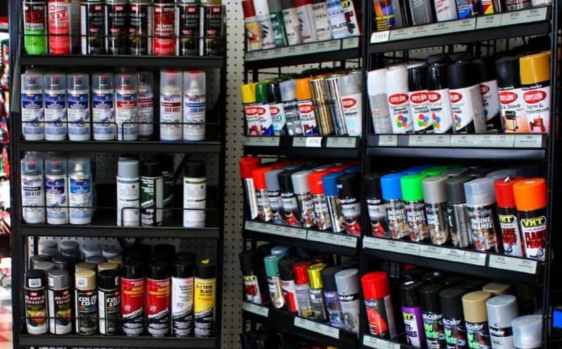 engine paint - auto parts store