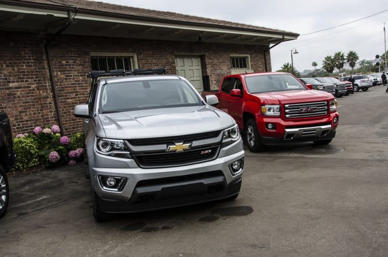Chevrolet Colorado and GMC Canyon mid-size pickups