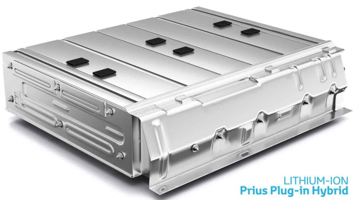 hybrid vehicle battery - lithium ion