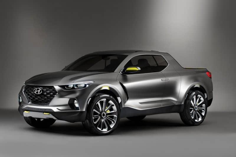 Hyundai Santa Cruz pickup truck concept