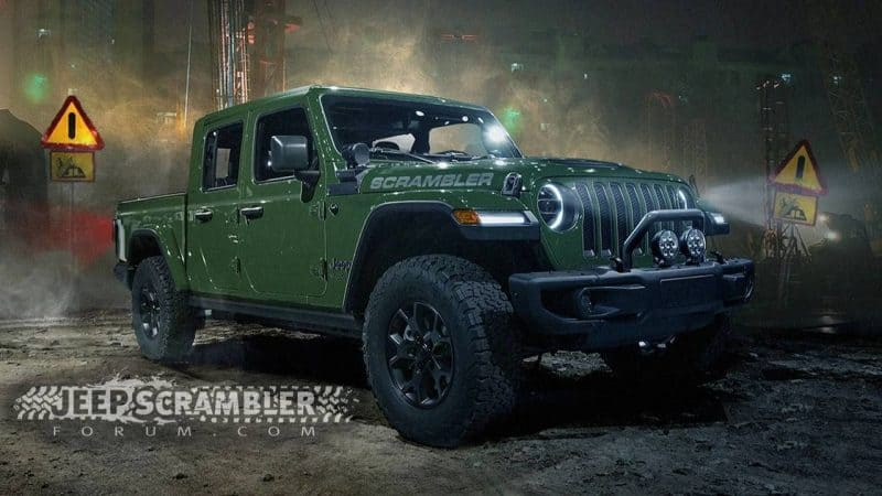 Jeep Wrangler Pickup (Scrambler) will be one of the best 2020 new cars heading our way