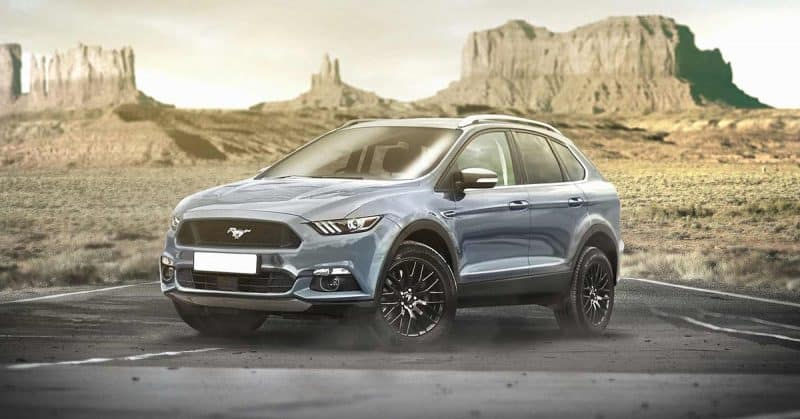2020 Ford Mustang-inspired electric SUV