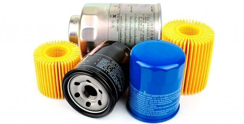 oil filter size