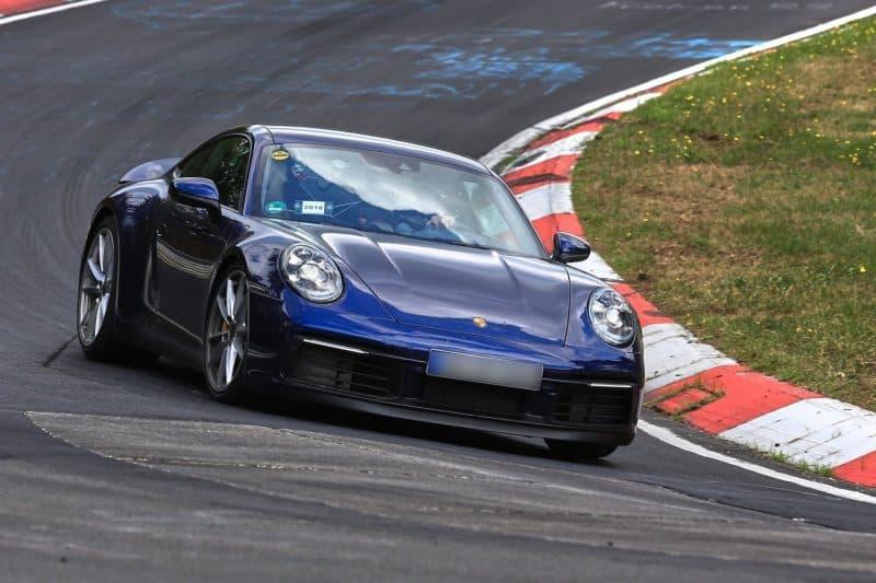 2020 Porsche 911 gen-992 test mule