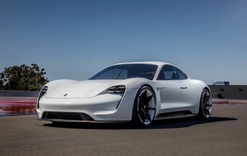 Porsche Mission E Concept previews the 2020 Porsche Taycan - the company's first ever EV