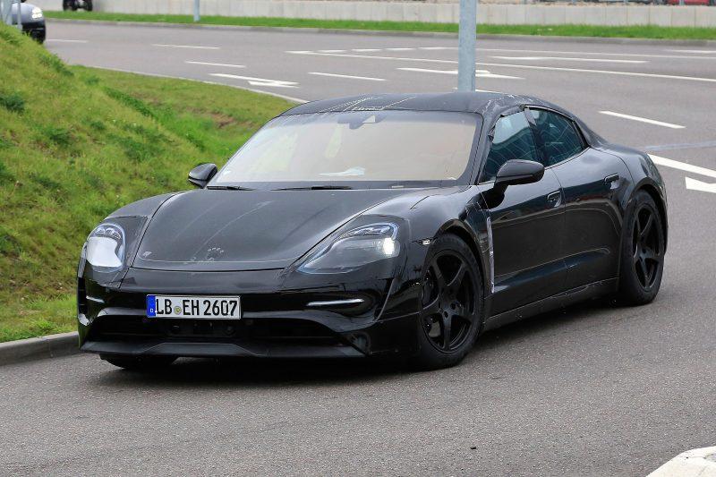 Porsche Taycan test mule