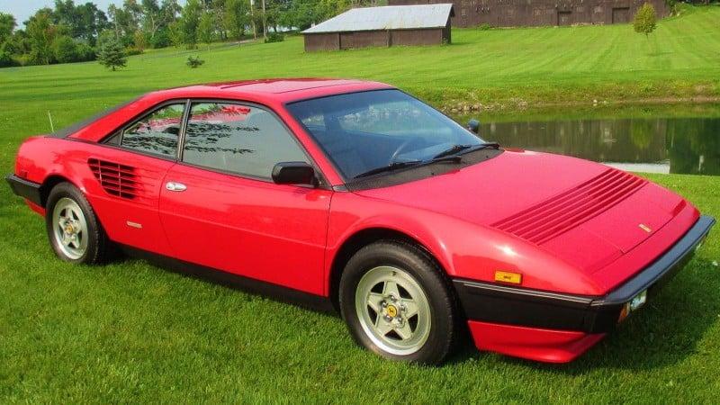 1982 Ferrari Mondial - right side view