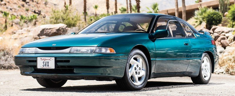 1992 Subaru SVX - Worst 2 Door Cars Ever Made