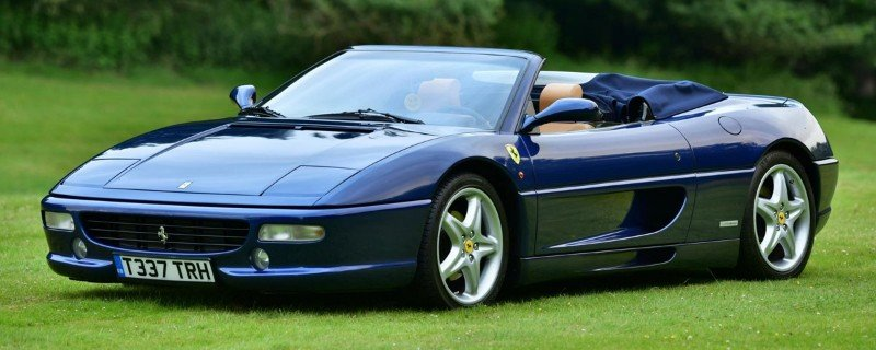 1999 Ferrari F355 - left front view