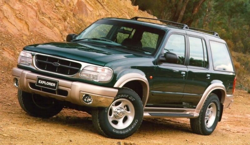 1999 Ford Explorer XLT - left front view