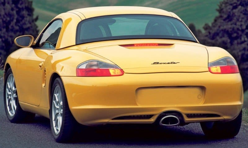2003 Porsche Boxster - rear view