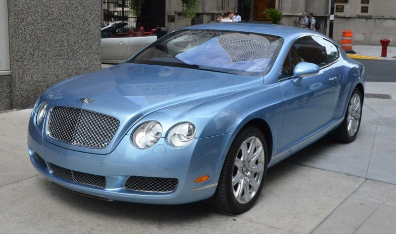 2005 Bentley Continental GT - drivers side front view