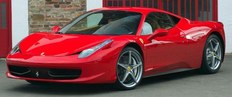 2010 Ferrari 458 Italia - left front view