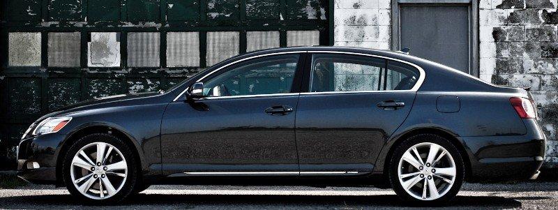2010 Lexus GS 450h - left side view