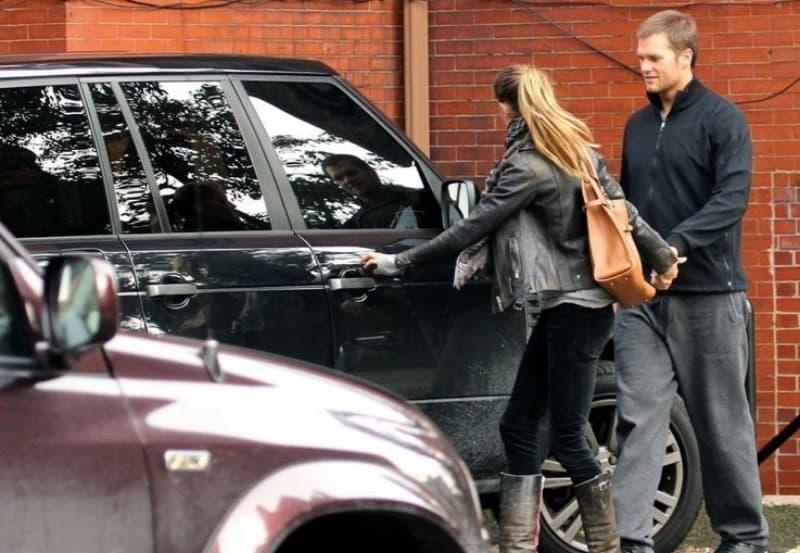 Tom Bradys 2011 Range Rover