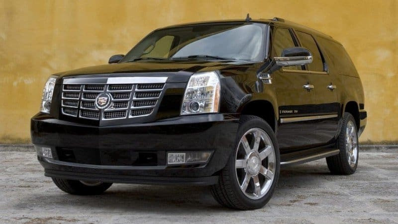 2013 Cadillac Escalade Hybrid - left front view