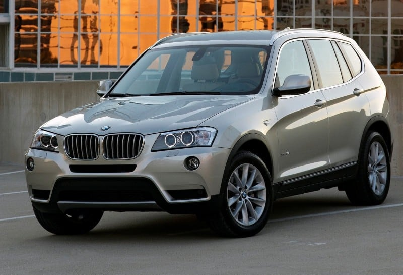 2014 BMW X3 SAV - left front view