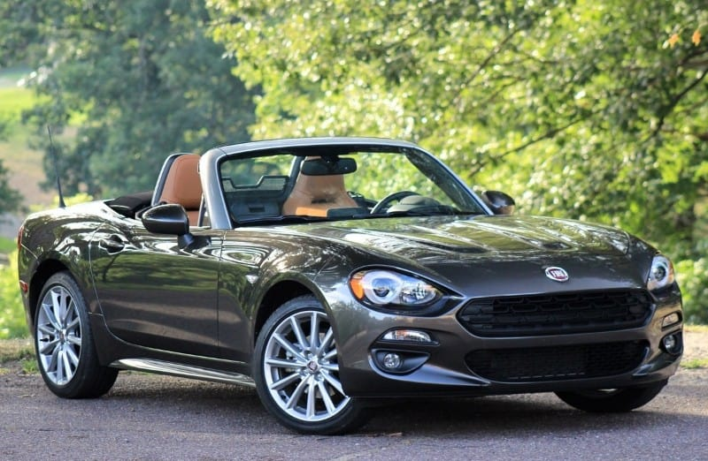 2017 Fiat 124 Spider - right front view