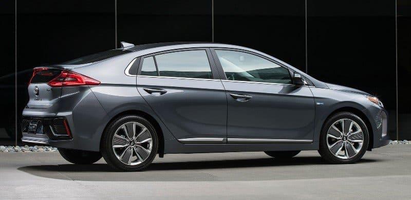 2017 Hyundai Ioniq Hybrid - passenger side view