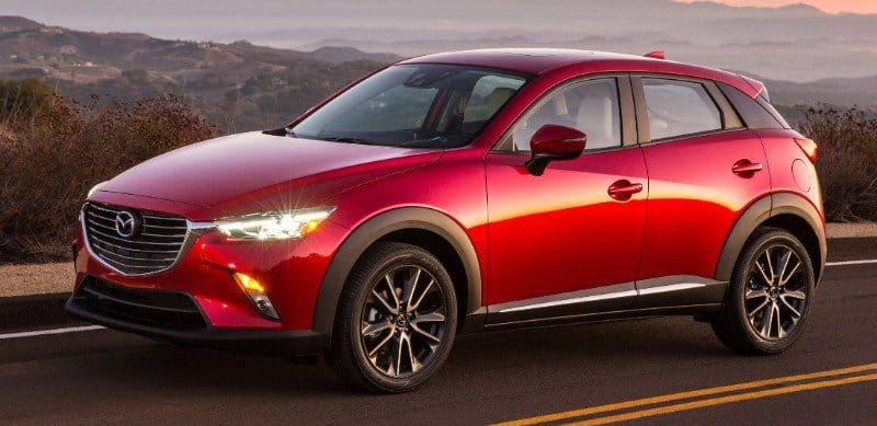 2017 Mazda CX3 - drivers side view
