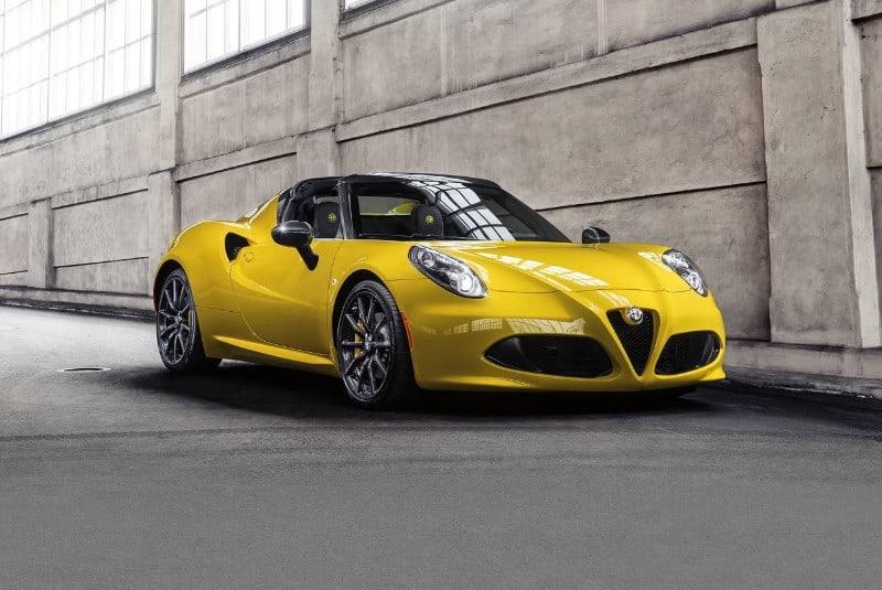 1 Alfa Romeo 4 C