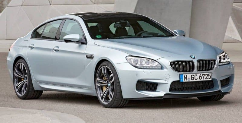 2018 BMW M6 Gran Coupe - right front view