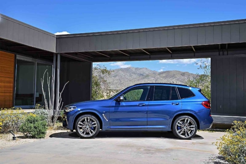 2018 BMW X3 M40i - drivers side view