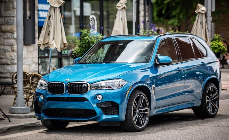 2018 BMW X5 M - left front view