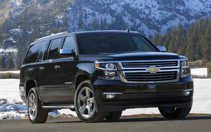2018 Chevrolet Suburban - right front view