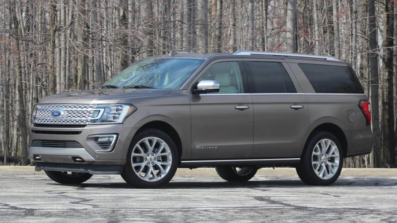 2018 Ford Expedition Platinum Max Side View