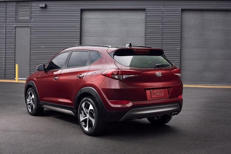 2018 Hyundai Tucson Value - rear view