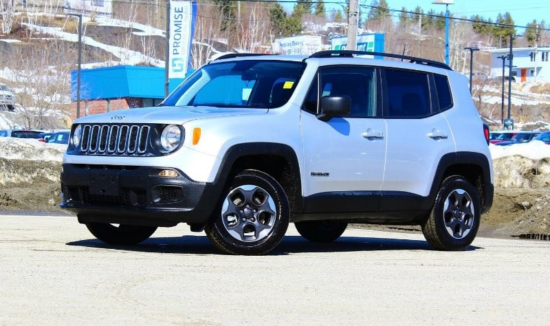 2018 Jeep Renegade Sport - driver side view