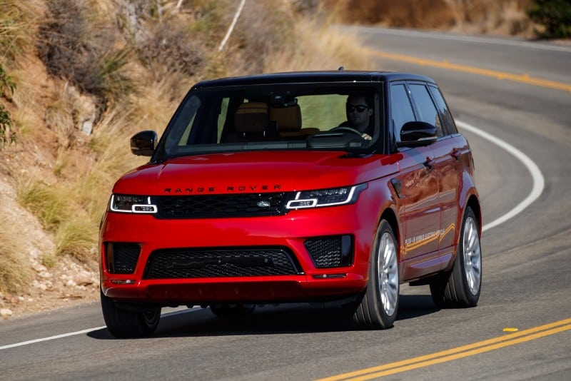 2018 Land Rover Range Rover Sport - front view