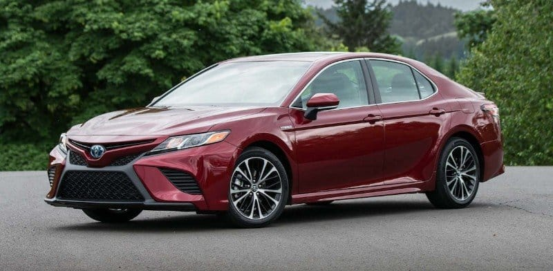 2018 Toyota Camry - driver side view