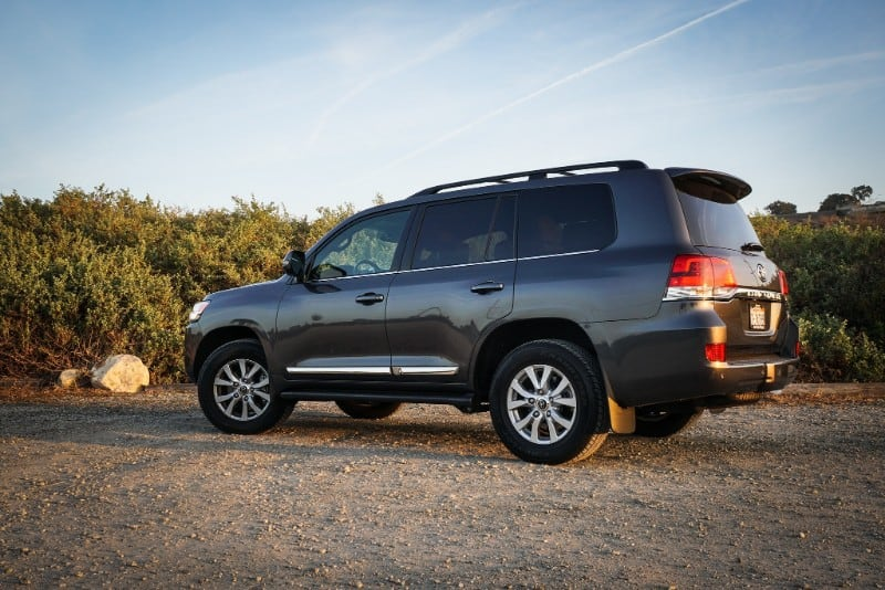 2018 Toyota Land Cruiser - drivers side view