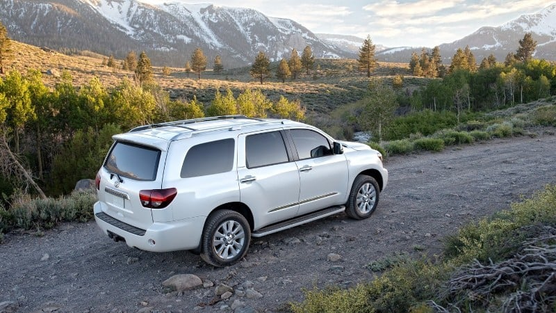 2018 Toyota Sequoia - right rear view