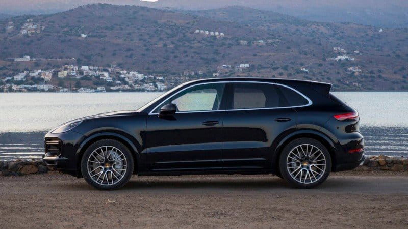 2019 Porsche Cayenne Turbo - drivers side view
