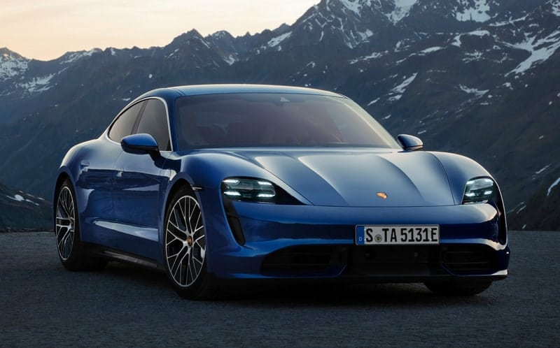 2020 Porsche Taycan - company's first ever EV