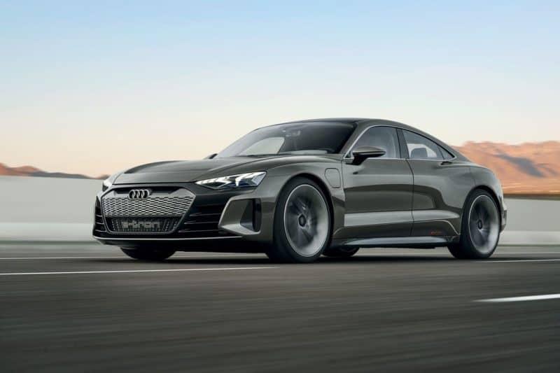 2020 Audi e-tron GT concept car