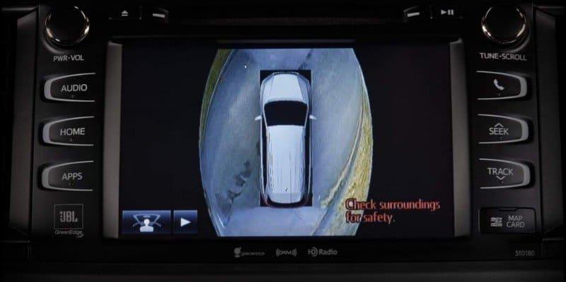 Bird's Eye-View Camera Technology