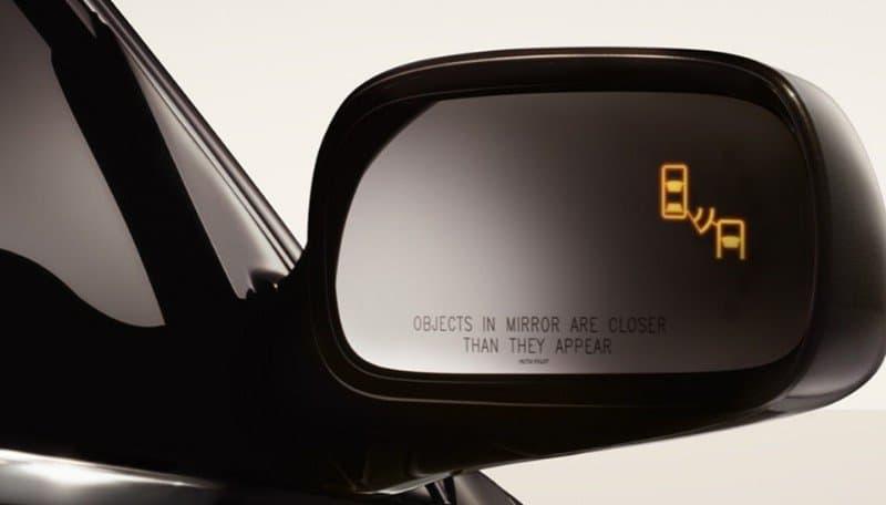Blindspot Warning detection light