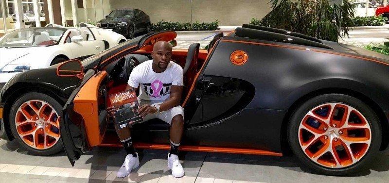 Bugatti Chiron - Floyd Mayweather