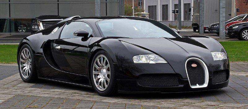Bugatti Veyron Super Sport - right front view