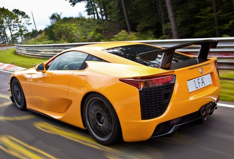 10 Fastest Lexus Cars Ever Made