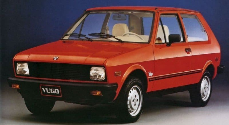 Yugo GV - worst 2 door car ever