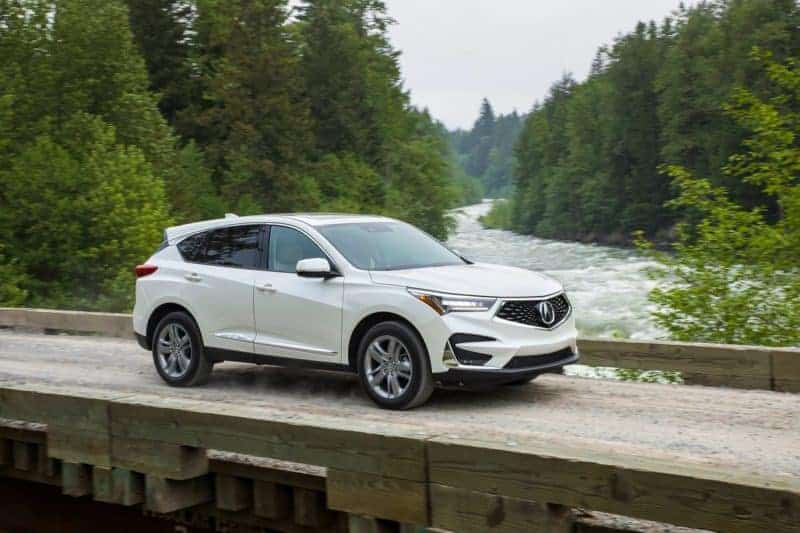 Acura RDX front 3/4 view