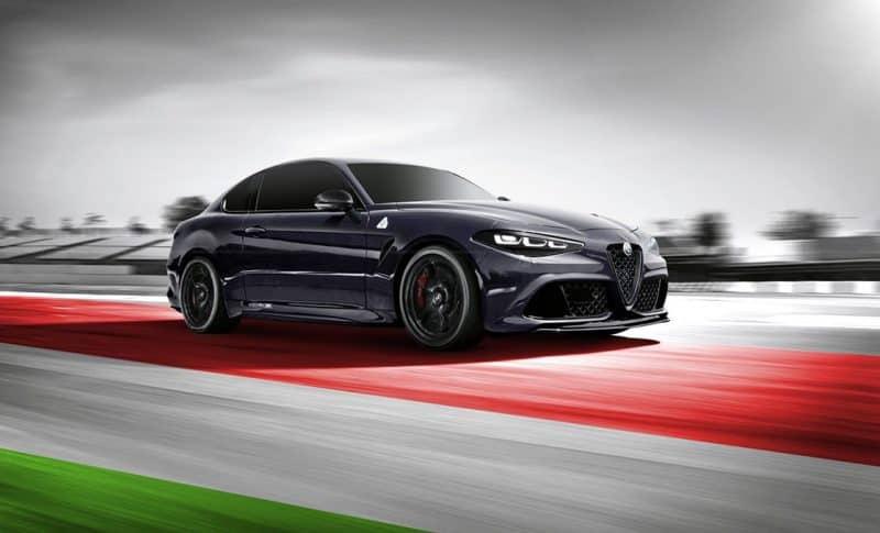 2020 Alfa Romeo GTV coupe rendering