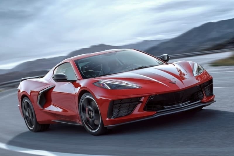 2020 Mid-engined Chevrolet Corvette Stingray